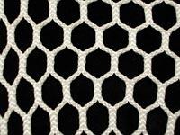 Knotless net hexagonal mesh